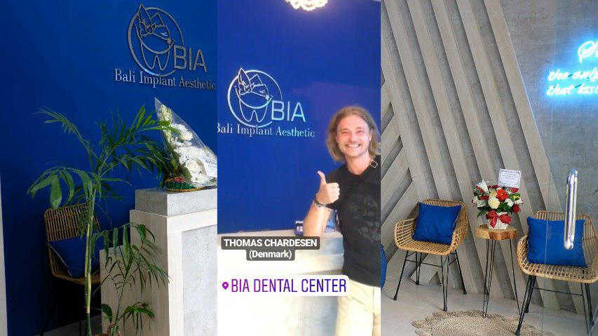 Thomas Cardesen, Denmark review's at BIA Dental Center, best Bali Dental Center